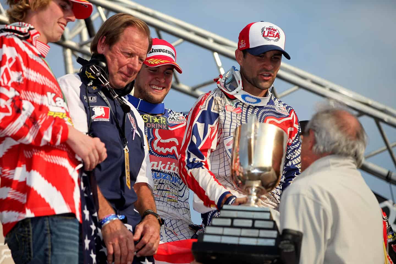 Motocross der Nationen 2009 in Franciacorta - Siegerehrung Team USA