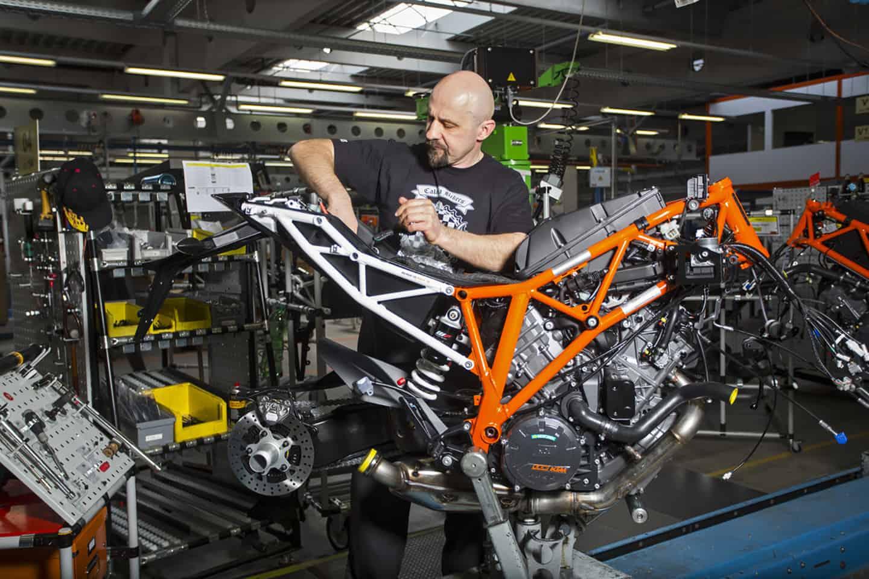 KTM Produktion