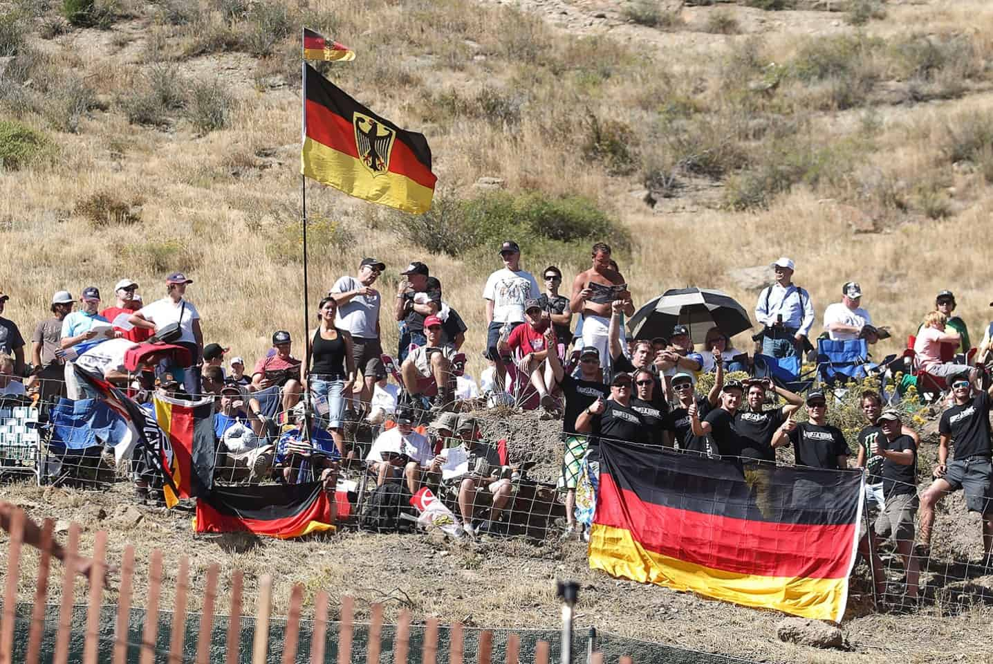 Motocoss of Nations 2010 in Lakewood, Colorado - Fans Team Germany