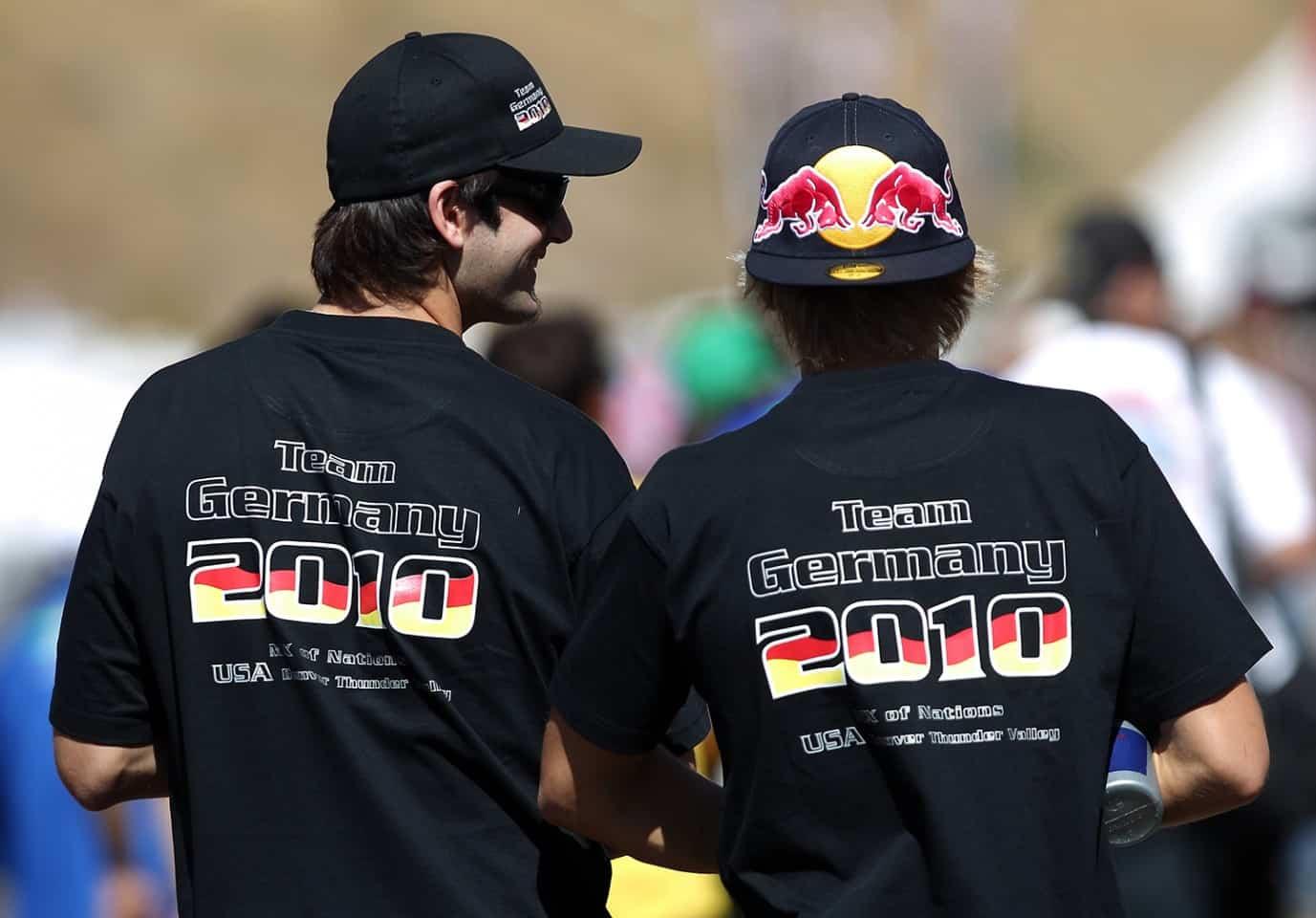 Motocoss of Nations 2010 in Lakewood, Colorado - Team Germany Marcus Schiffer und Ken Roczen