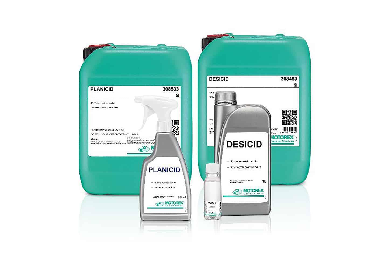 MOTOREX produziert Desinfektionsmittel
