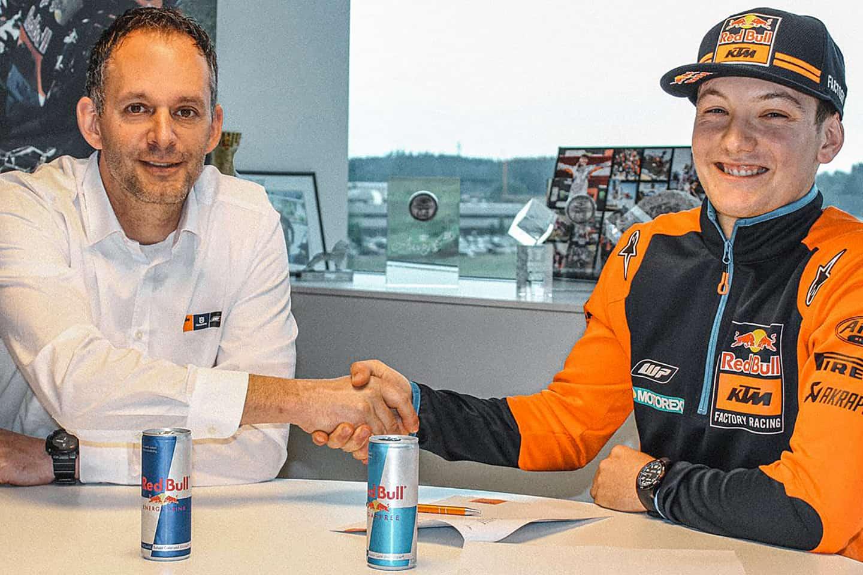 GP-Fahrerlager - Robert Jonas und Rene Hofer