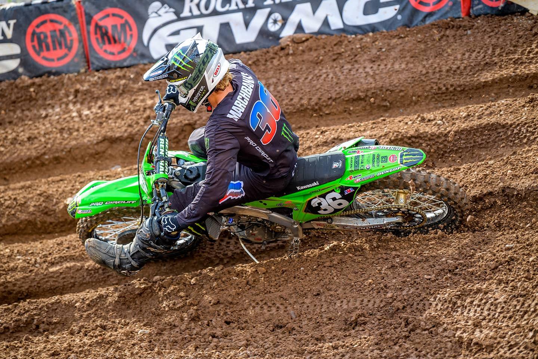 Garrett Marchbanks bei SX-Runde 11