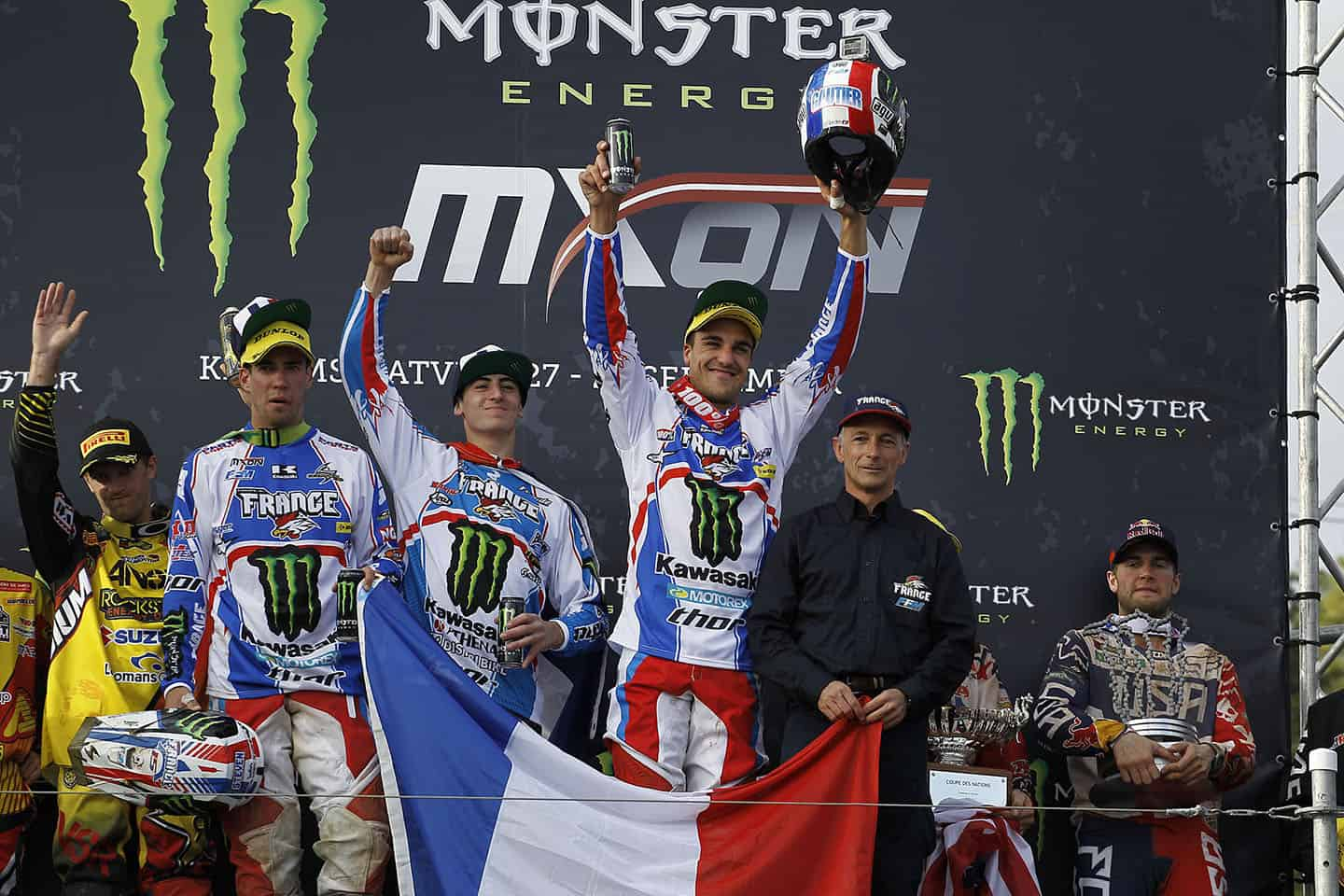 MXoN 2014 Lettland Kegums - Team France