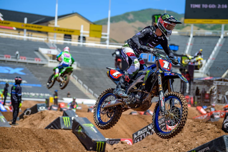 Monster Energy AMA Supercross 2020 Runde 17 in Salt Lake City 7 Dylan Ferrandis
