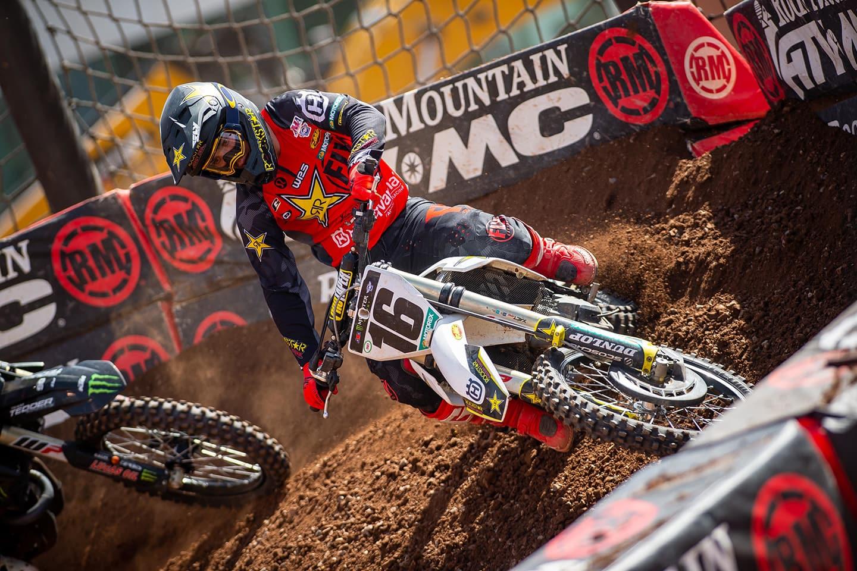 Monster Energy AMA Supercross 2020 Runde 17 in Salt Lake City 7 Zach Osborne