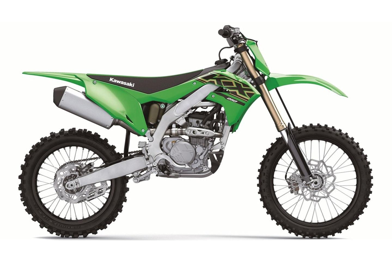 Kawasaki KX250 Modelljahrgang 2021