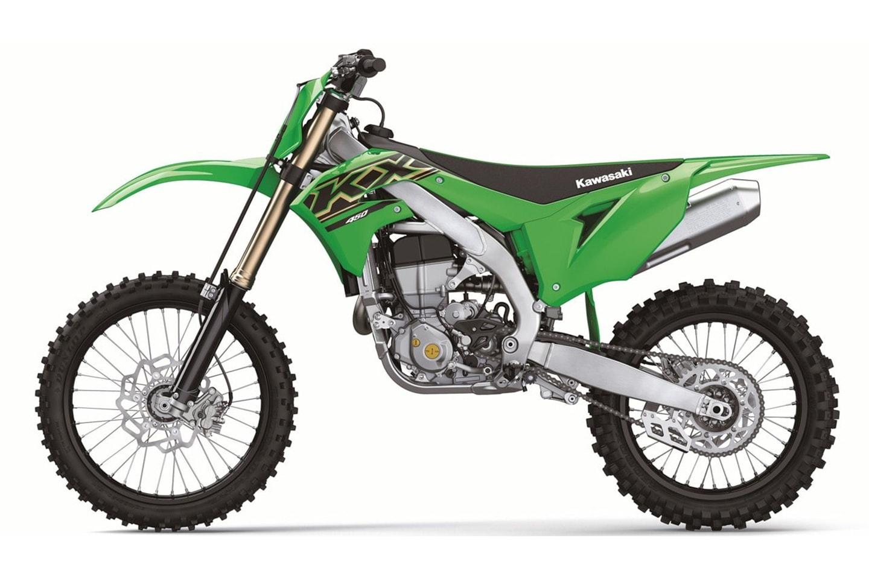 Kawasaki KX450 Modelljahrgang 2021