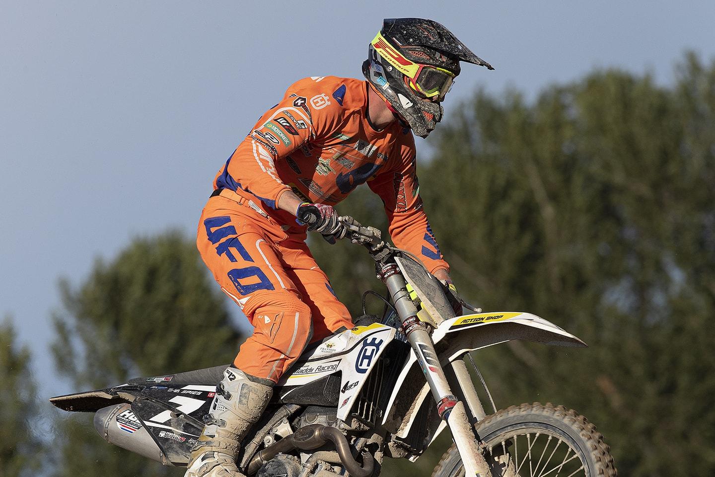 FIM Motocross-Europameisterschaft 2020 in Mantova 1 - Rennbericht EMX Maximilian Spies