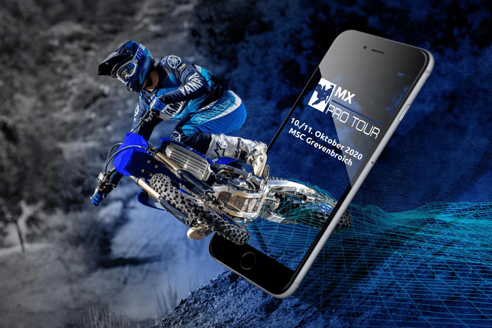 Yamaha-MX-Pro-Tourplan 2020 steht