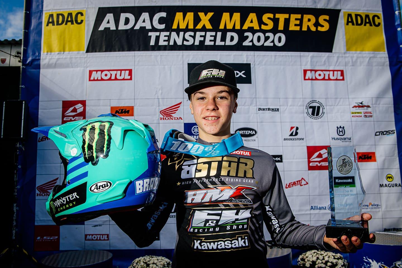 ADAC MX Masters 2020 in Tensfeld - Rennbericht Bradley Mesters