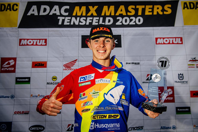 ADAC MX Masters 2020 in Tensfeld - Rennbericht Maximilian Spies