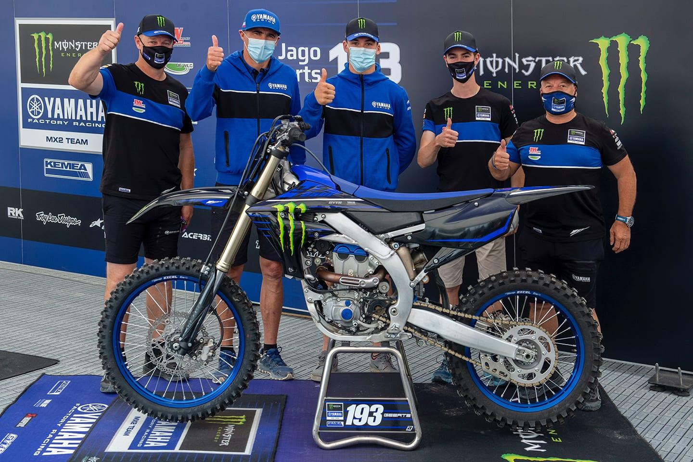 Yamahas MX2-Verpflichtungen für 2021 und 2022