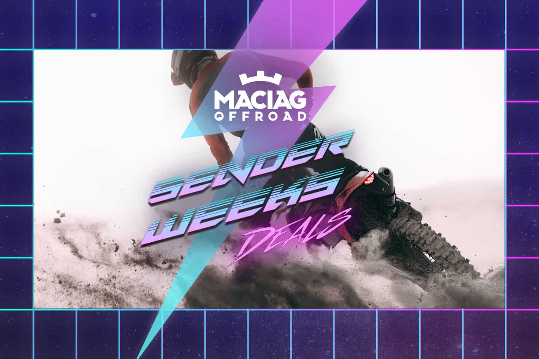 Die Maciag Offroad Senderweeks sind das Sale-Highlight im November