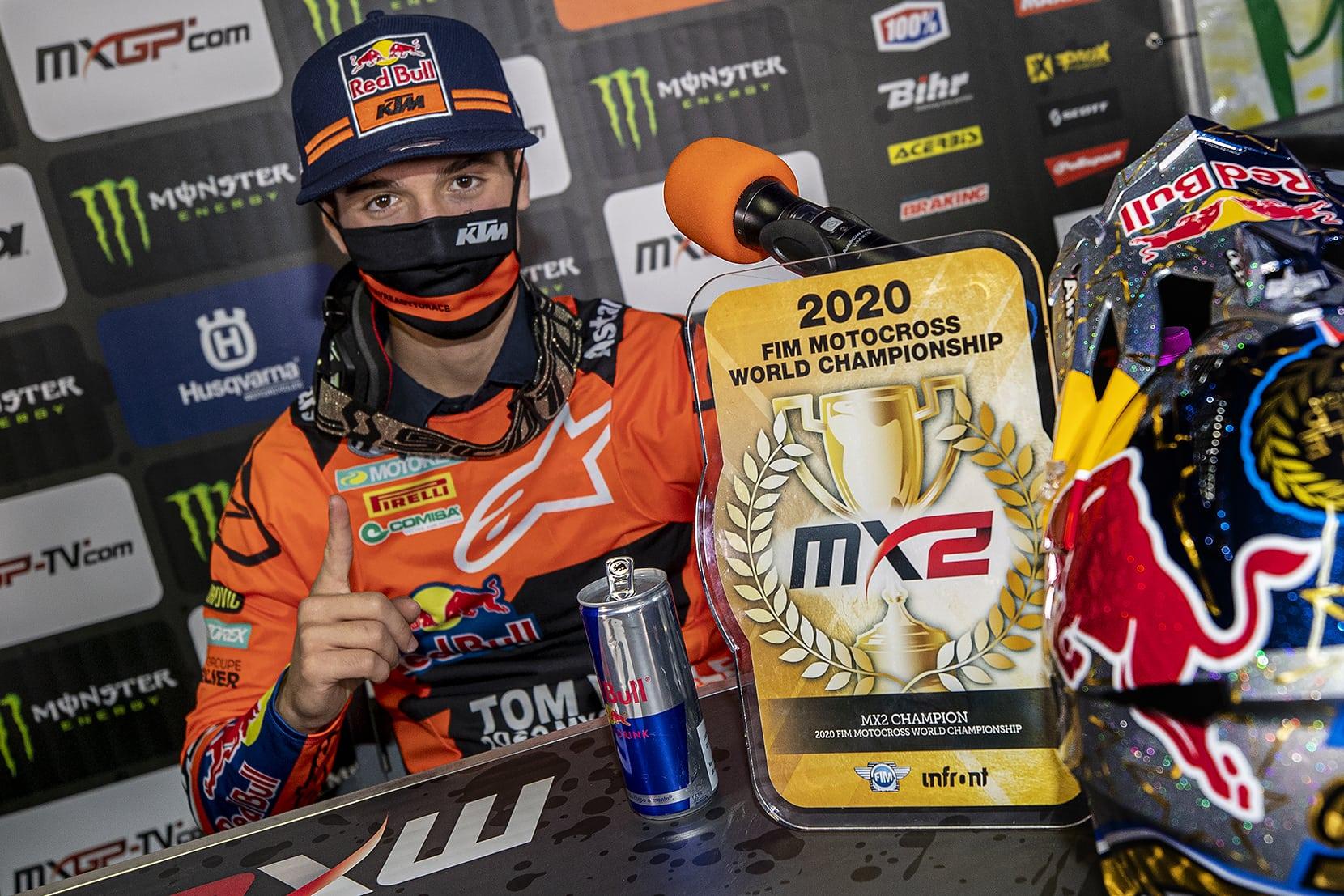 Vialle ist MX2-Champion 2020