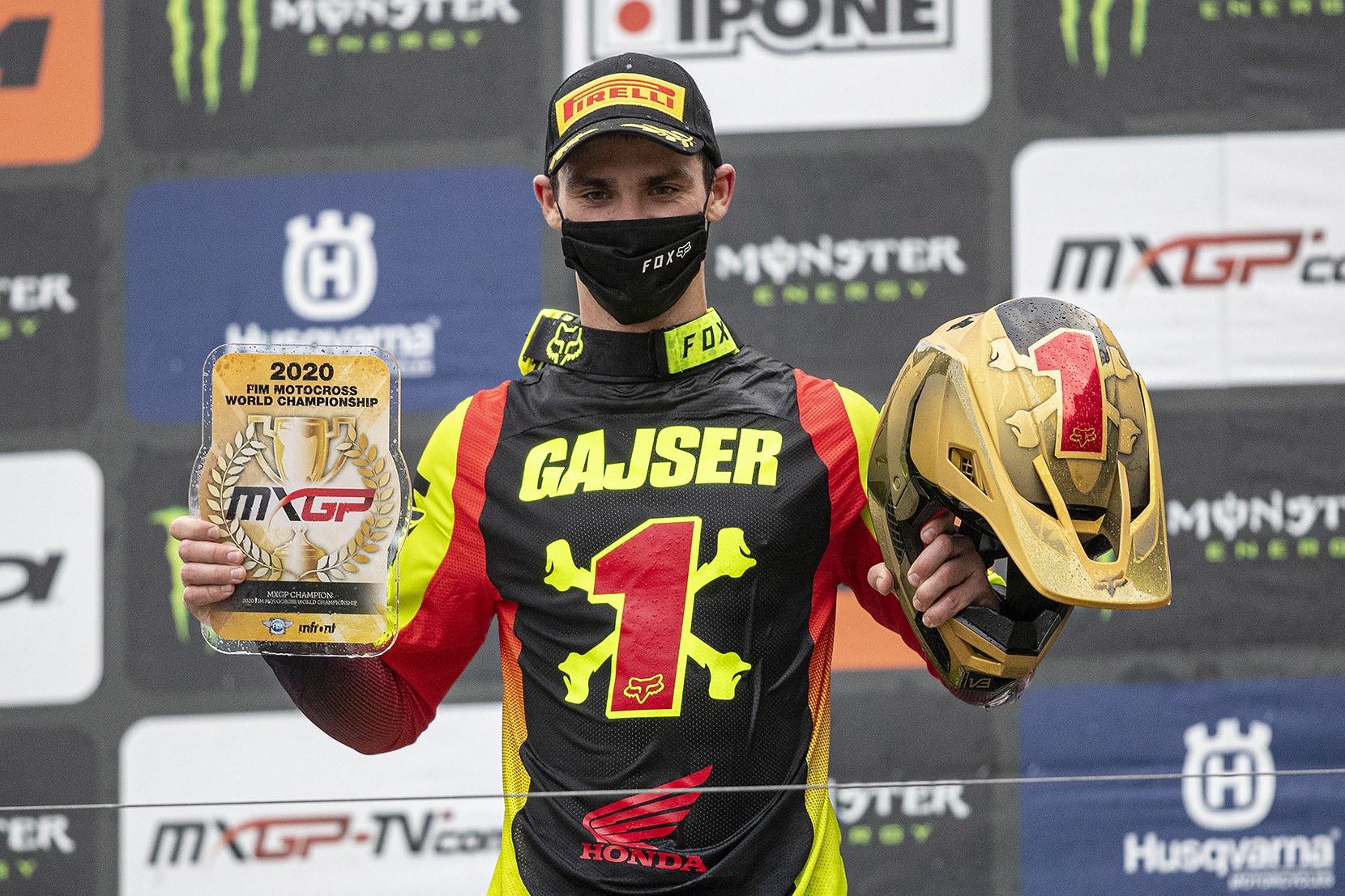 Gajser verteidigt erfolgreich seinen WM-Titel