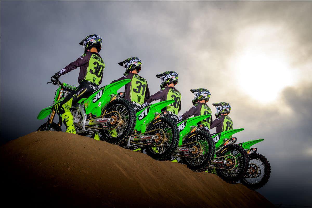 Monster Energy Pro Circuit Kawasaki 2021 Cameron McAdoo