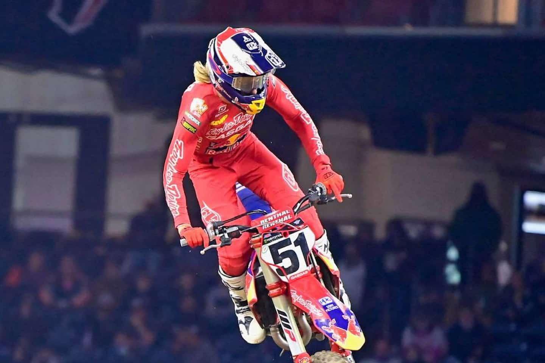 Houston 1 – Ergebnis 450SX Hauptrennen