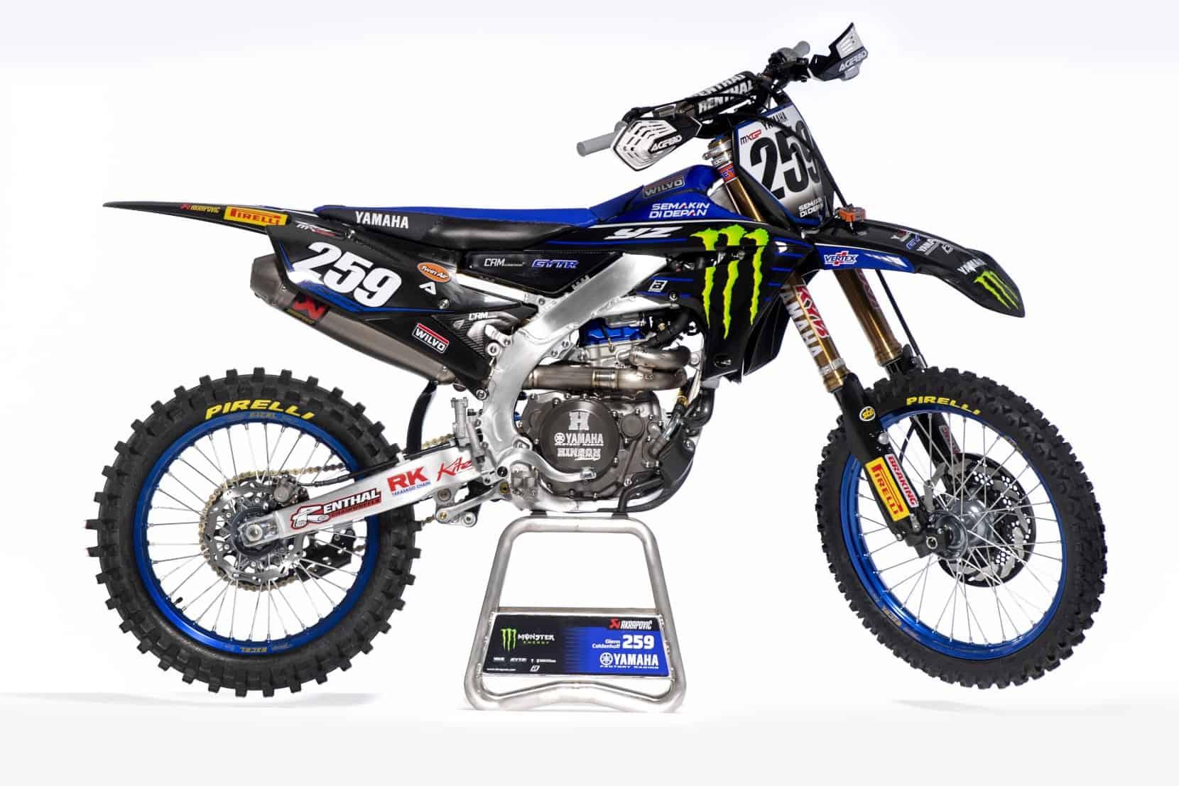 Glenn Coldenhoffs Yamaha Factory YZ450FM 2021 im Detail