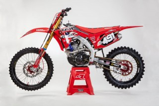 KMP Honda Racing 221 - Bike Paul Haberland