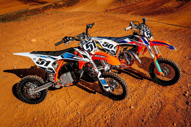 Test KTM SX-E 5 vs. KTM 50SX Factory Edition