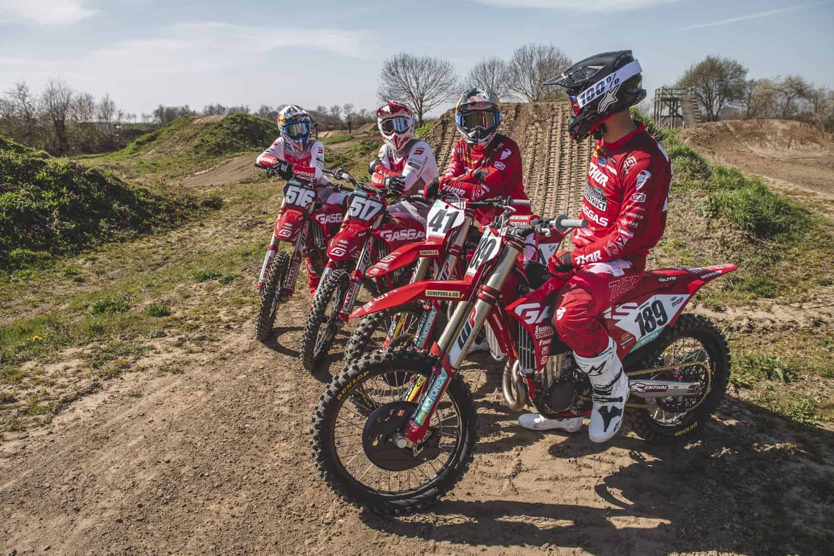 Get on the Gas: Die GASGAS MX-Werksteams