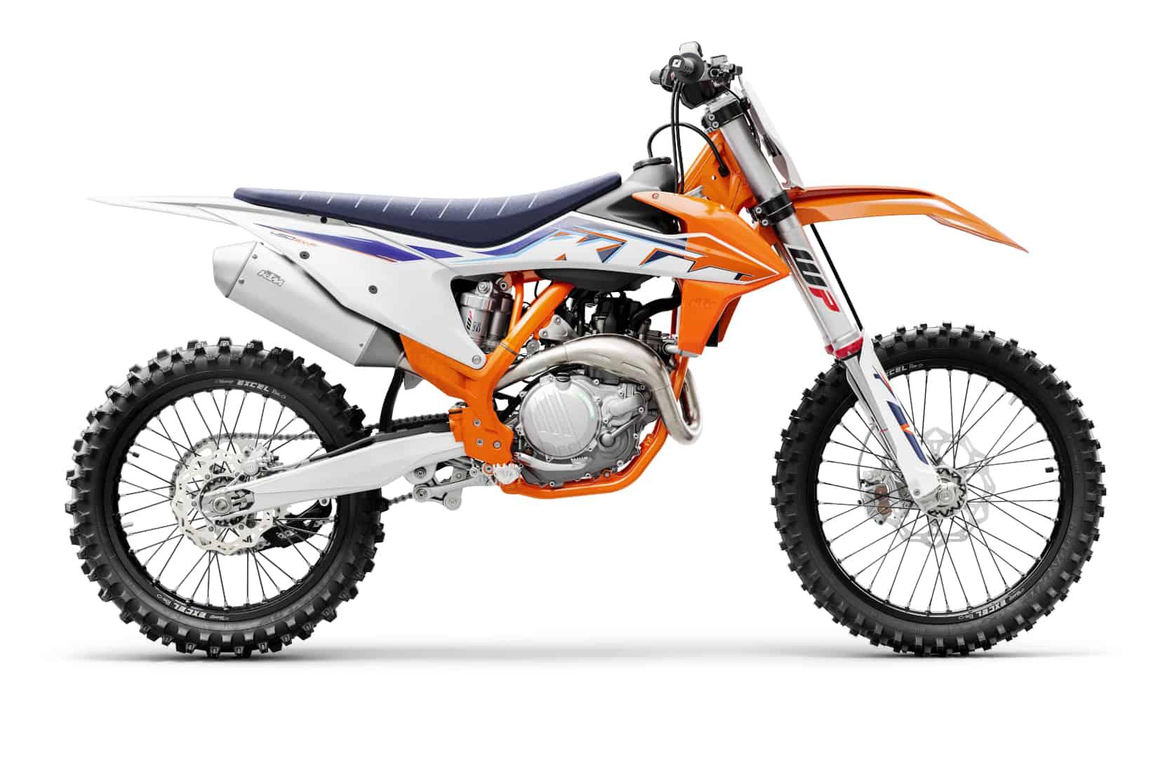Die neuen KTM Motocross-Modelle 2022 sind da
