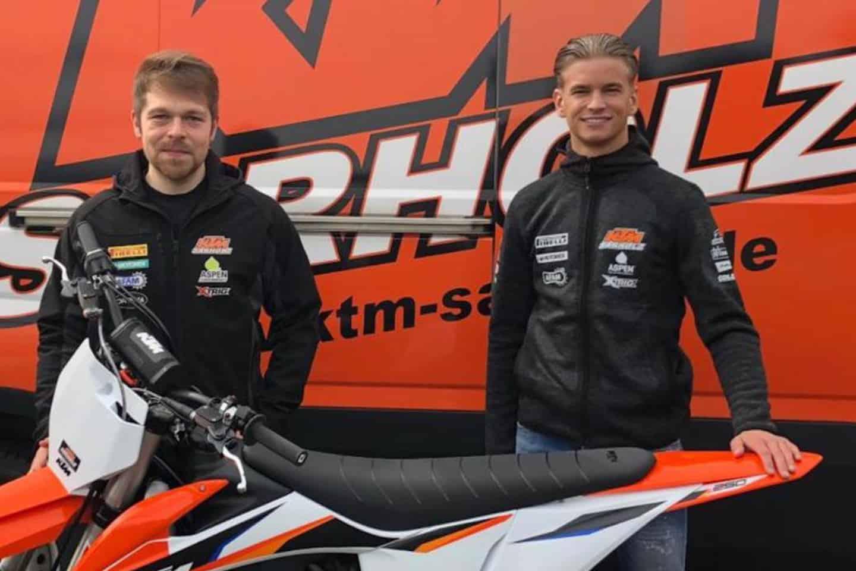 KTM Sarholz verpflichtet Kjell Verbruggen