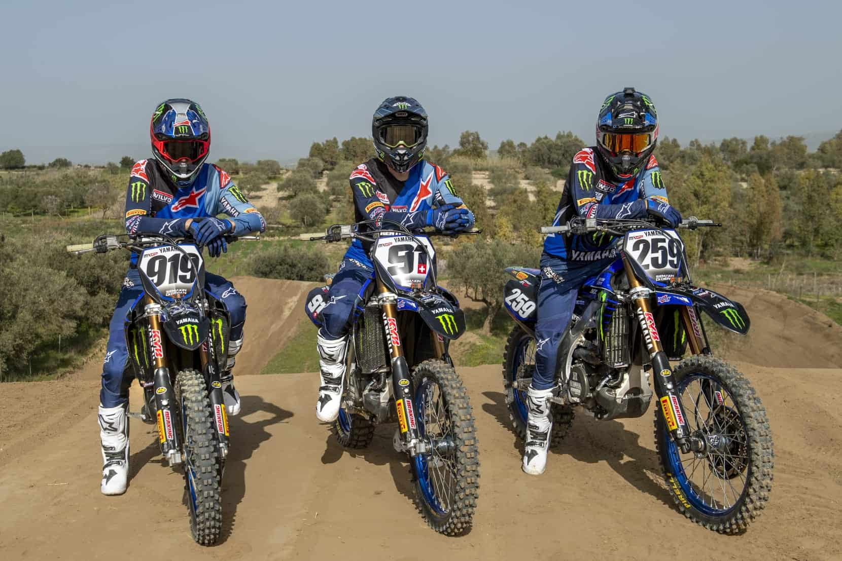 Road to 2021: Monster Energy Yamaha Factory MXGP Team