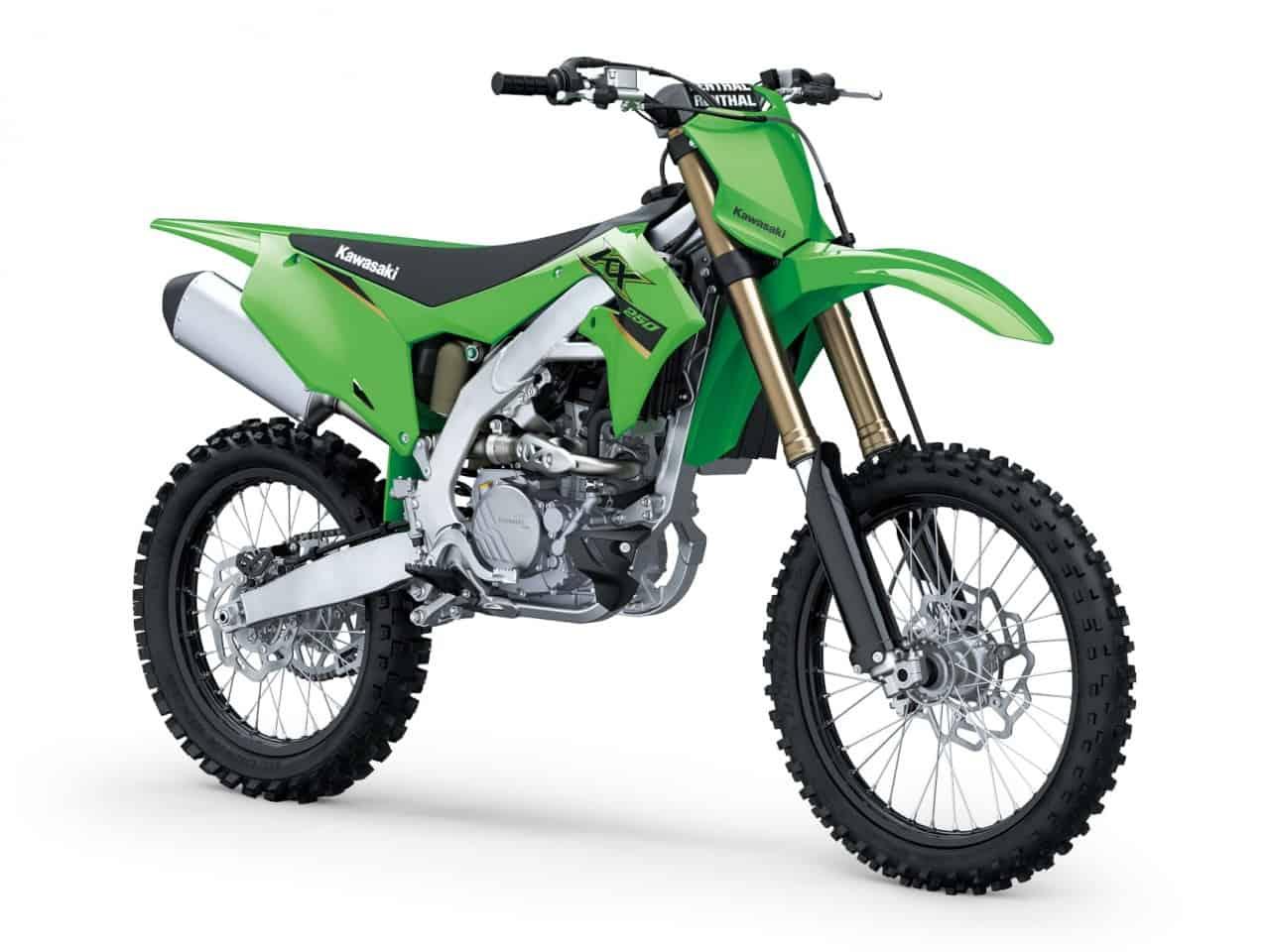 Kawasaki KX250 Modelljahrgang 2022