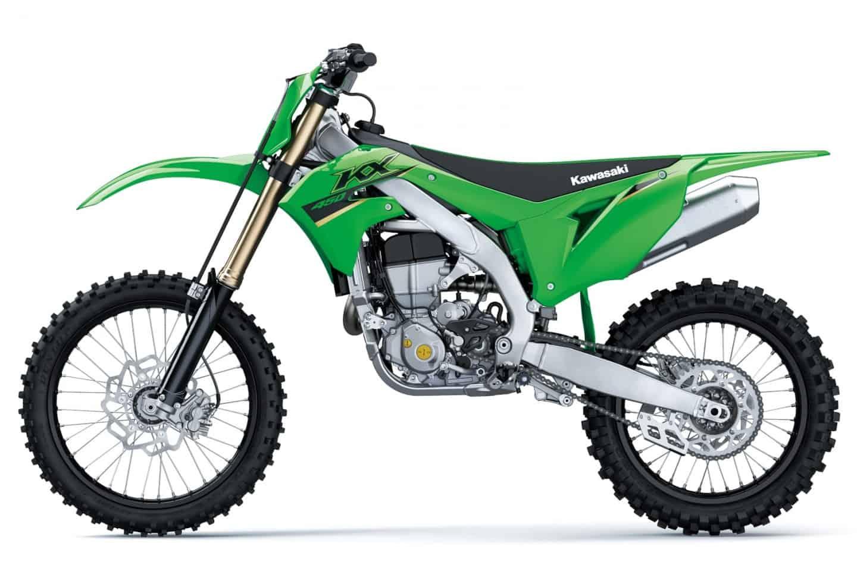 Kawasaki KX450 Modelljahrgang 2022