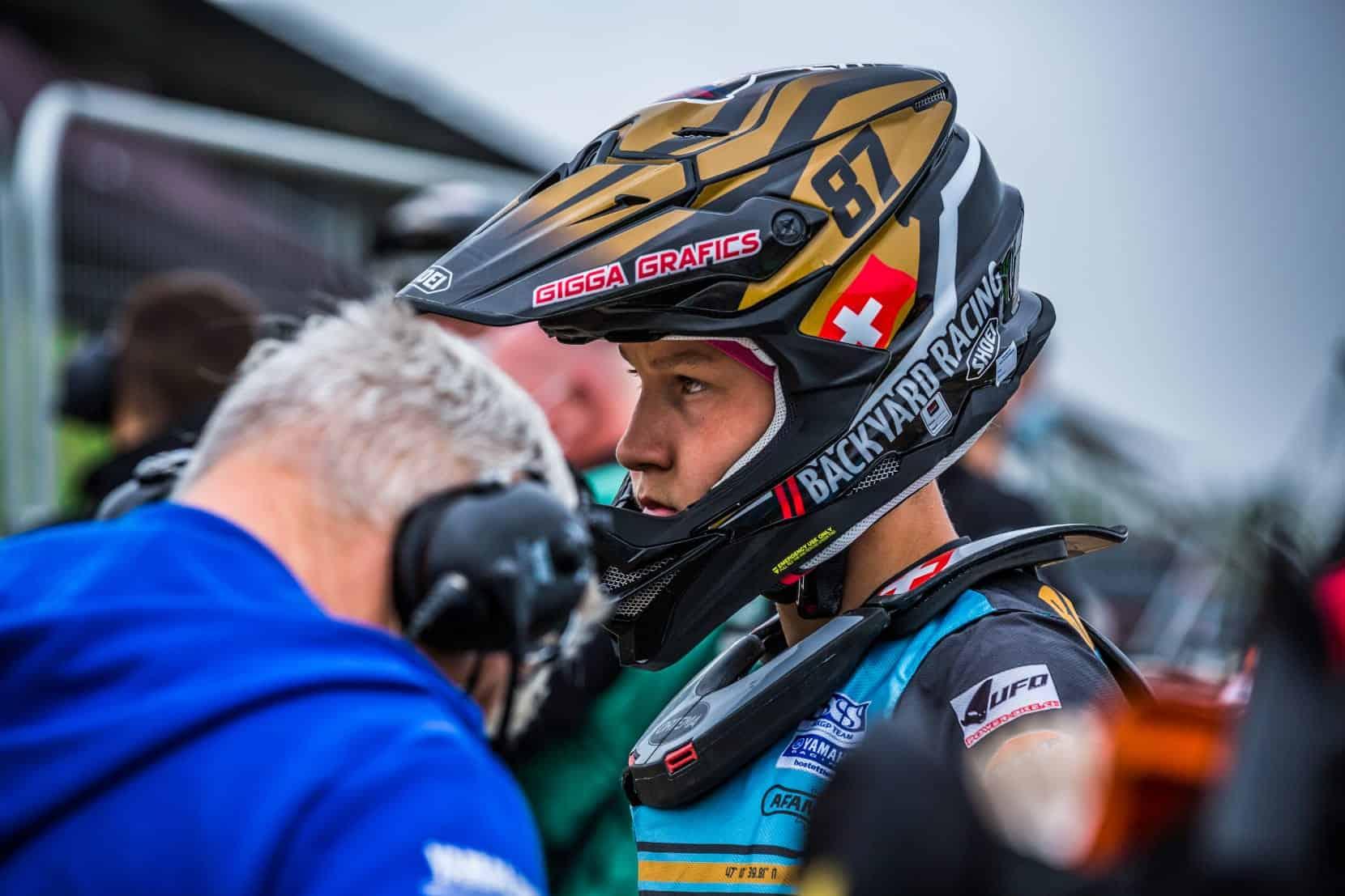 Schmerzhafter England-GP für Kevin Brumann