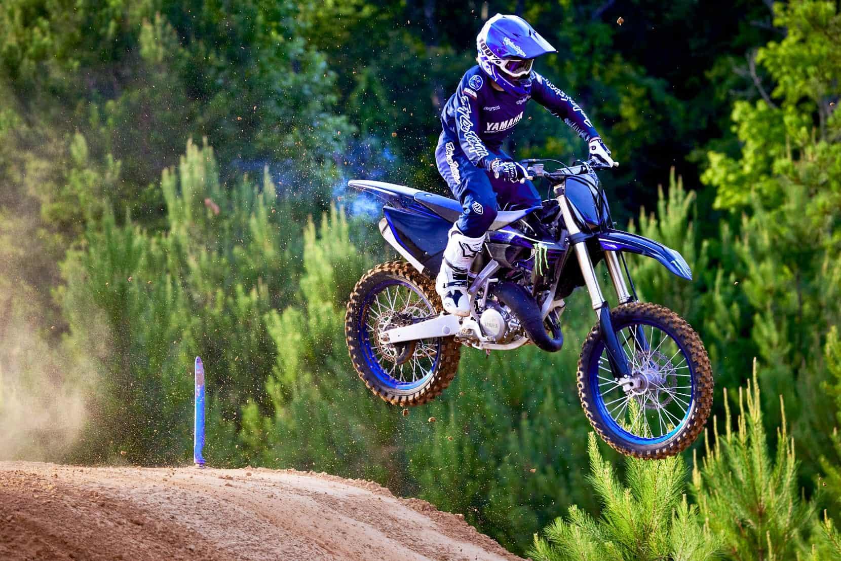 2022 Yamaha YZ125 & YZ125 Monster Energy® Yamaha Racing Edition