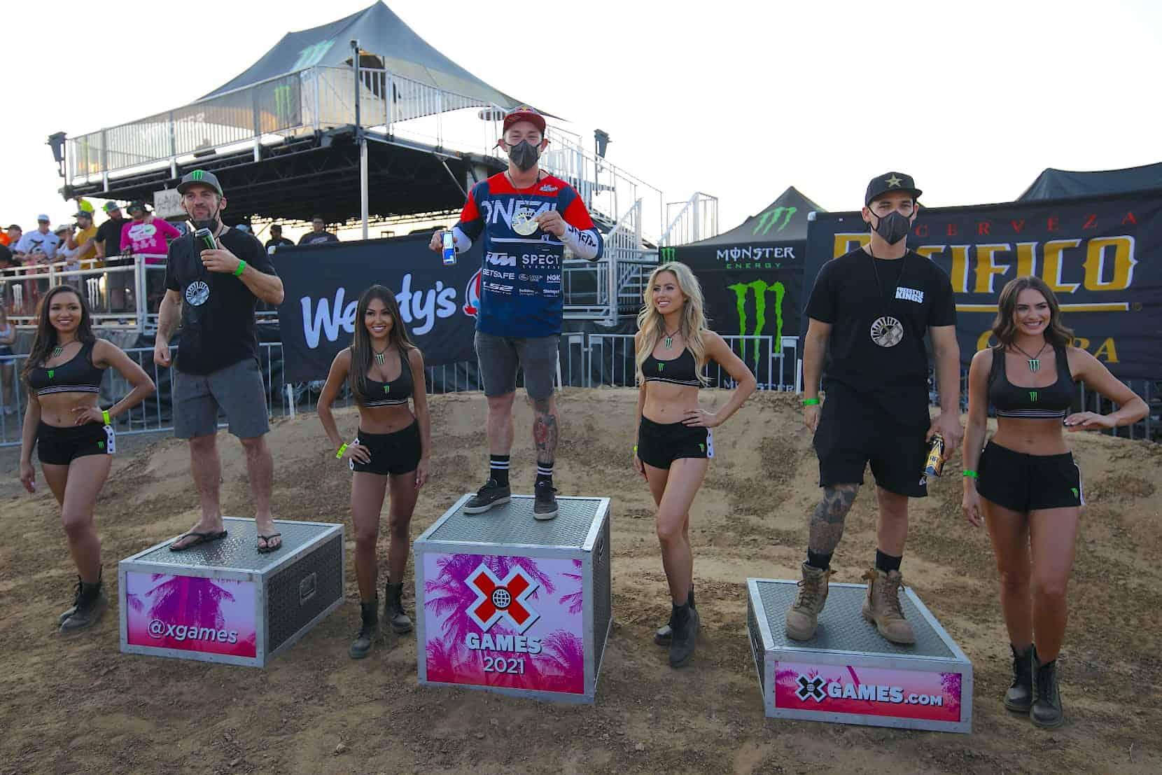 FMX-Weltmeister Luc Ackermann gewinnt Gold bei den X-Games