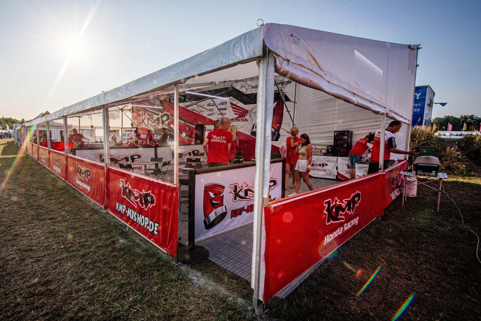 KMP Honda Racing kratzt in Tensfeld am Podium