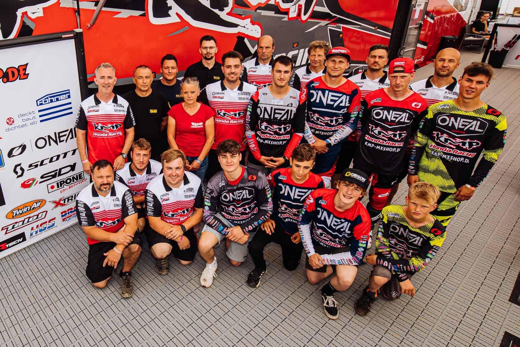 Masters-Saisonstart in Bielstein für KMP Honda Racing