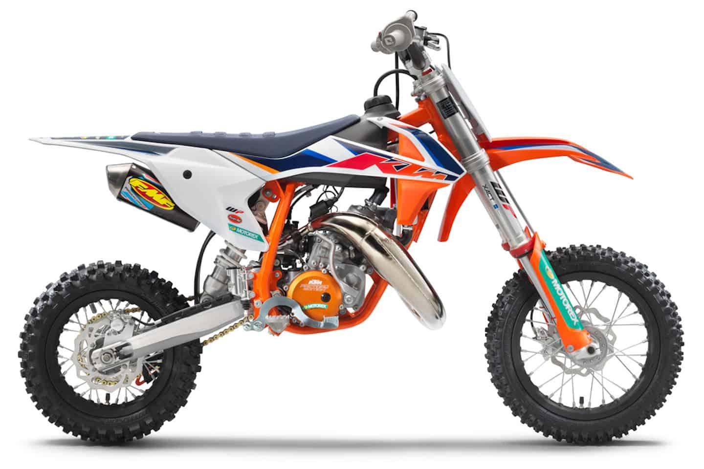 PM KTM: KTM präsentiert die KTM 50 SX Factory Edition 2022