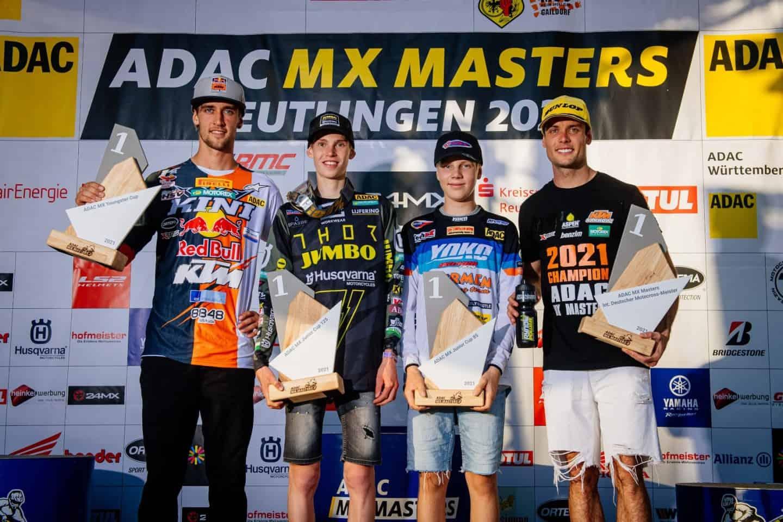 ADAC MX Masters 2021 in Reutlingen - Rennbericht