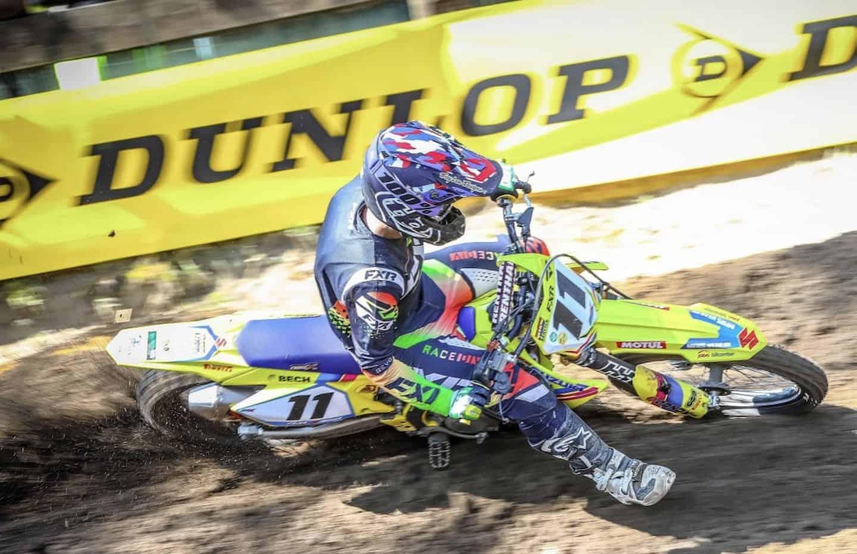 Es war sein Tag - Stefan Bech aus Dänemark gewinnt nach zwei perfekten Läufen die MX1-Tageswertung