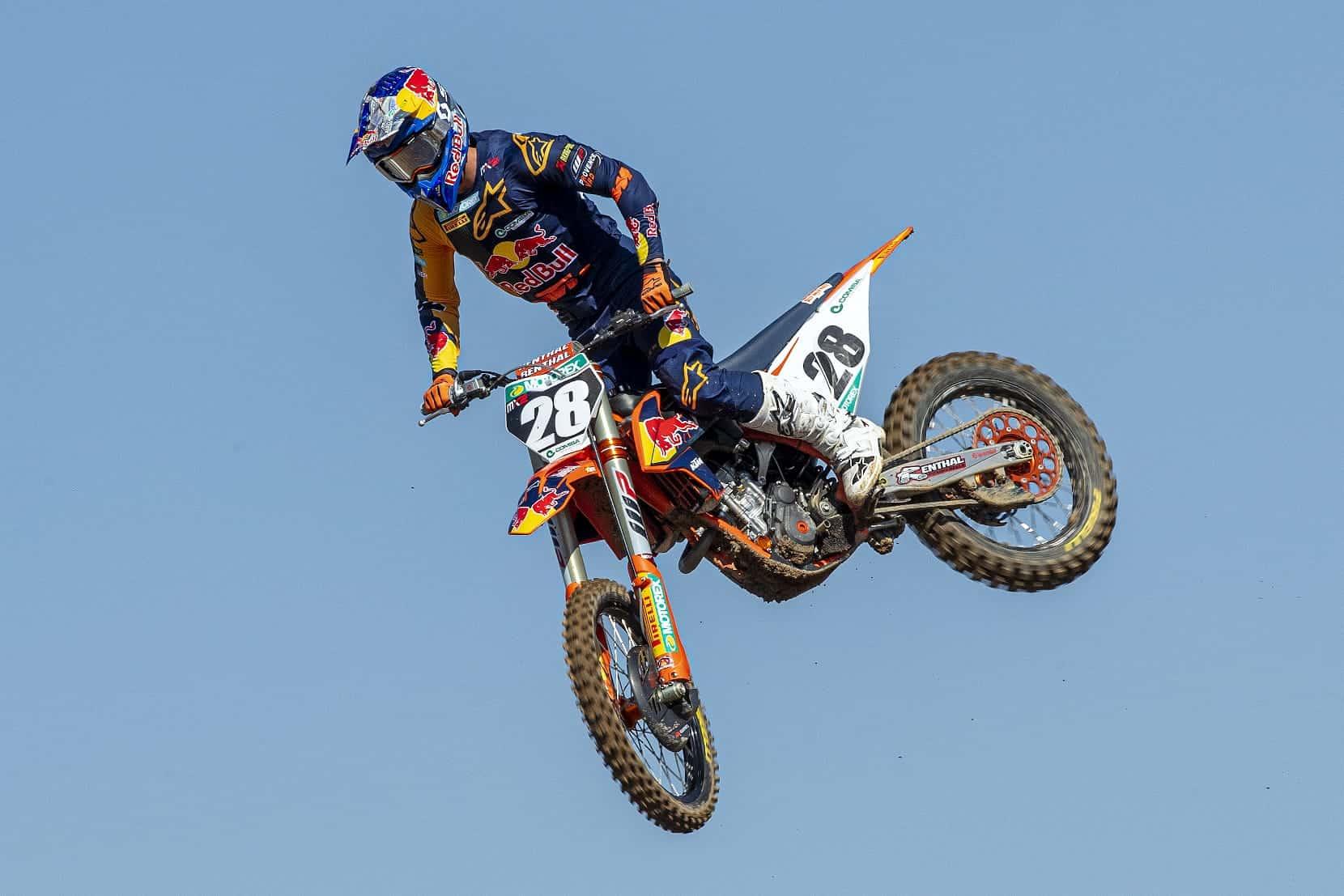 MXGP of Sardegna – Ergebnisse Klasse MX2 Wertungslauf 1