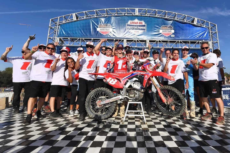 US-Fahrerlager - Honda HRC - Erik Kehoe