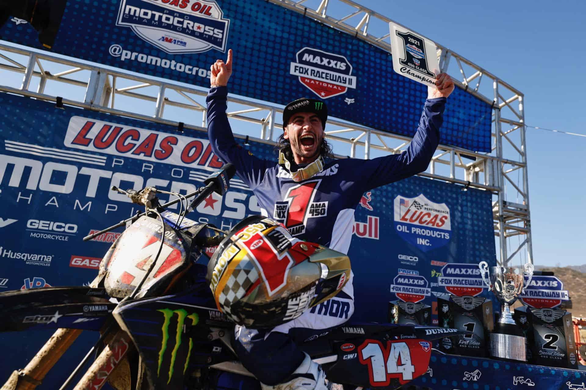 Yamaha präsentiert seinen Rückblick auf die AMA Pro Motocross-Meisterschaft 2021