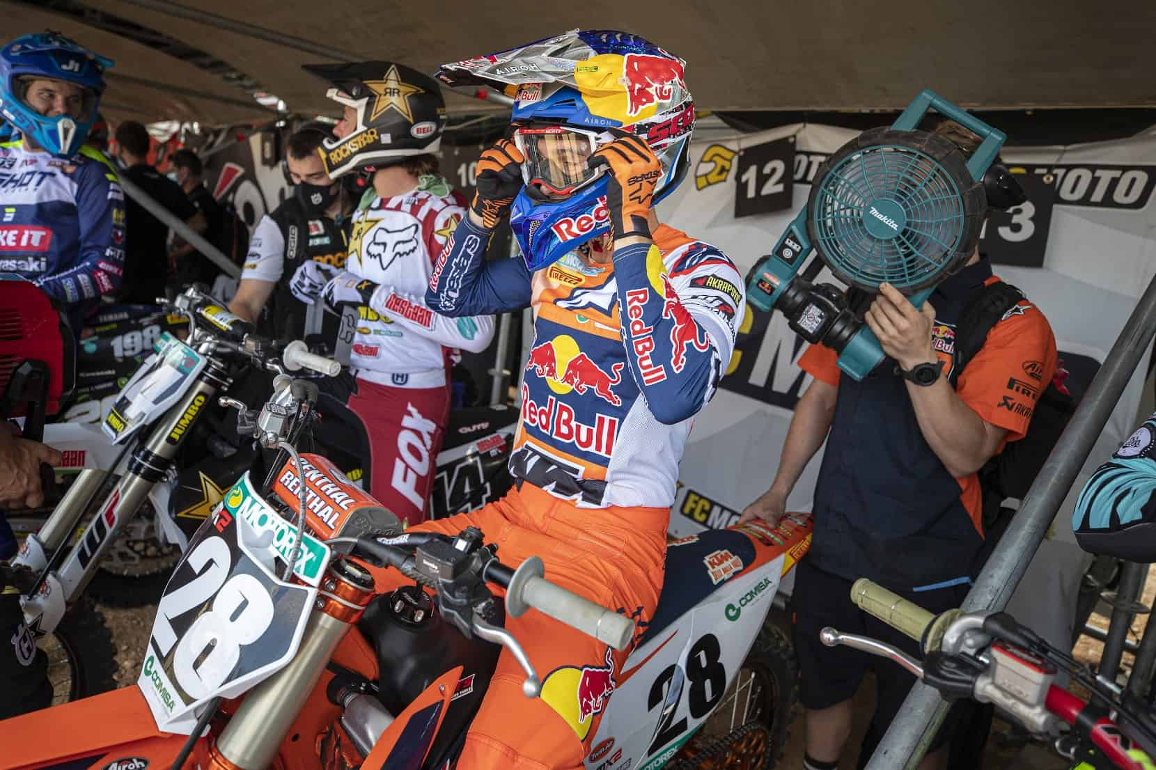 Strafe für Tom Vialle im zweiten MX2-Rennen von Teutschenthal