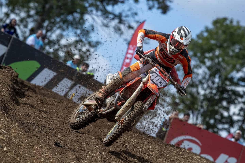 PM WZ Racing - MXGP of France - Bastian Bøgh Damm 2