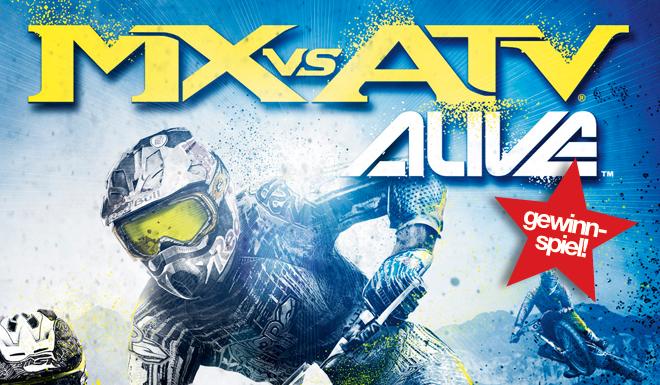 THQ-Gewinnspiel: 5 x MX vs. ATV Alive!