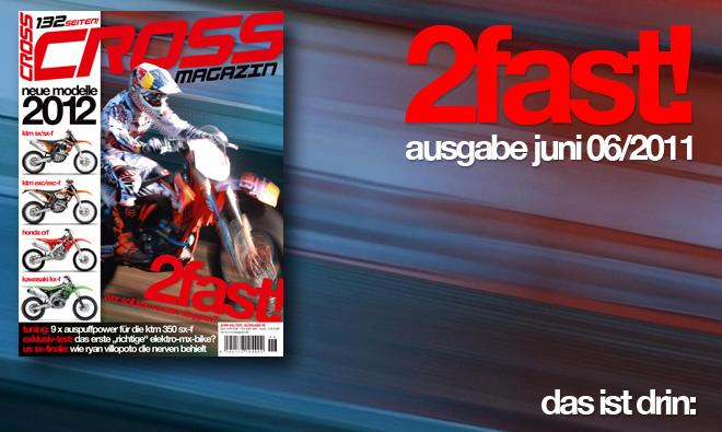 Inhalt CROSS #6, Ausgabe Juni 06/2011