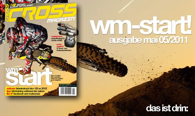 Inhalt CROSS #5, Ausgabe Mai 05/2011