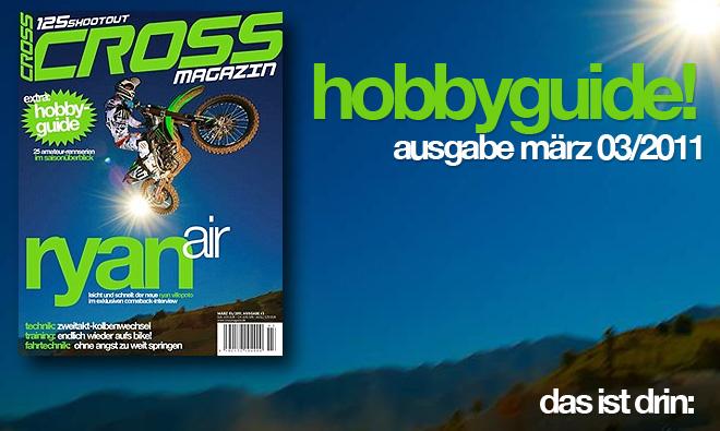 Inhalt CROSS #3, Ausgabe März 03/2011