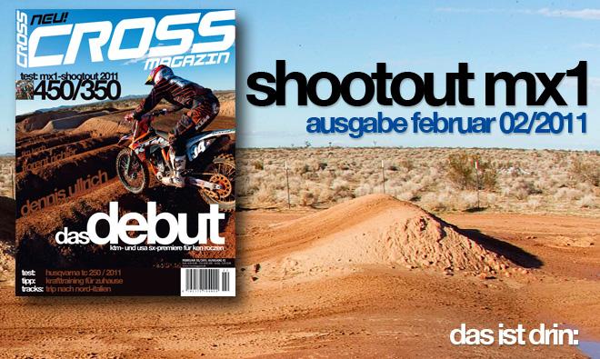 Inhalt CROSS #2, Ausgabe Februar 02/2011