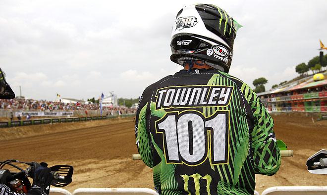 Ben Townley pausiert